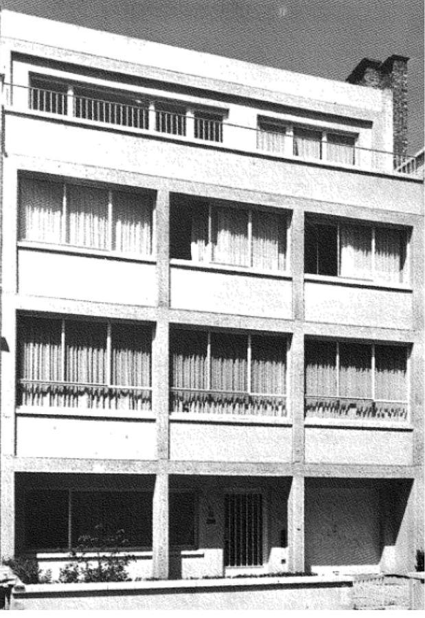 Maison Hamaide d'Odette Filipino (1955), rue Jules Lejeune<br>