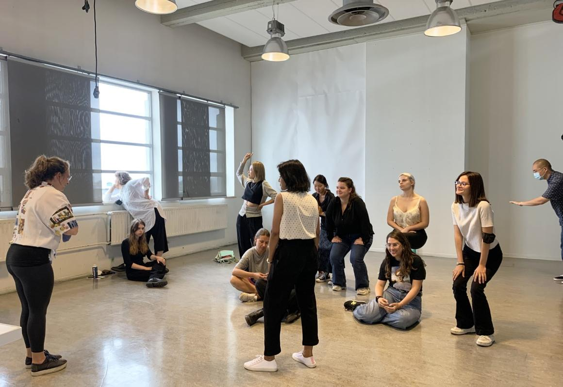 The Critical Inquiry Lab students 2021 - 2023 during the preparation day on Friday, 10 September 2021<br>