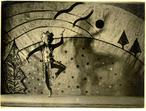AKAROVA, the Ancestor in the performance Le Sacre du Printemps (Igor Stravinski), 1935