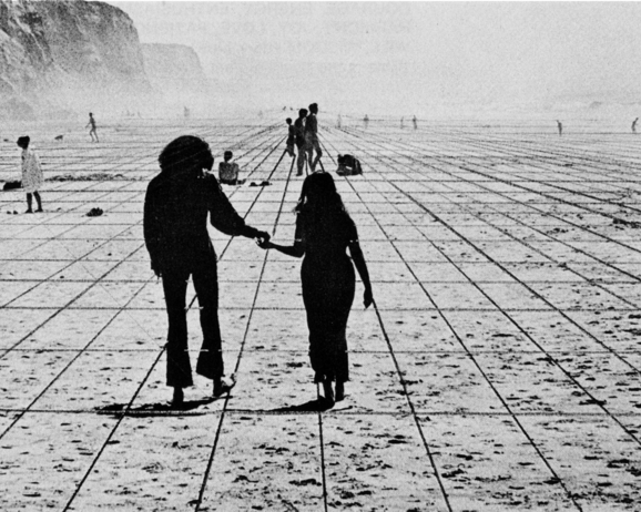 Superstudio, Gli Atti Fondamentali, Vita (Supersuperficie), Viaggio da A a B, 1971